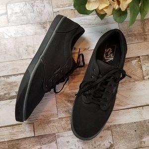 EUC Black Vans Authentic Skate Shoe Sneakers